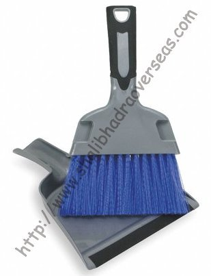 Plastic Dustpan-Brush Set