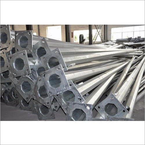 Galvanized Iron Octagonal Pole