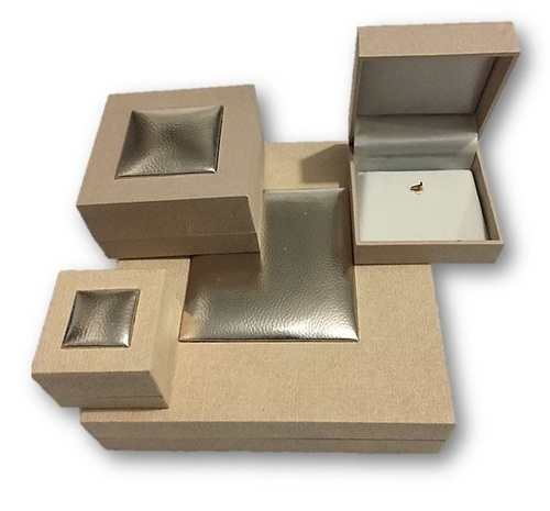 Square Cream Jewellery Box Series