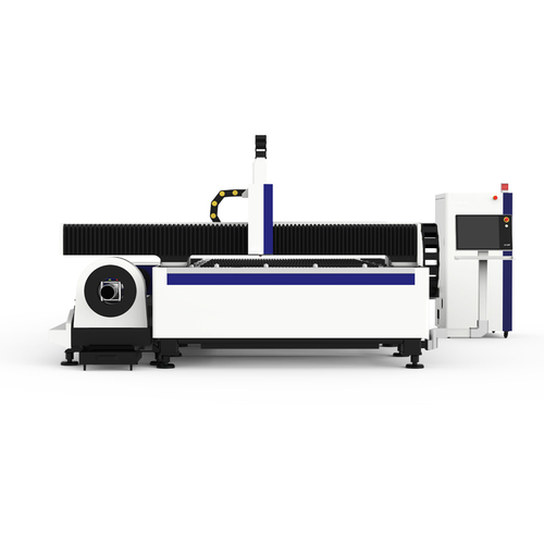 Fiber Laser Metal Cutting Machine with Rotary