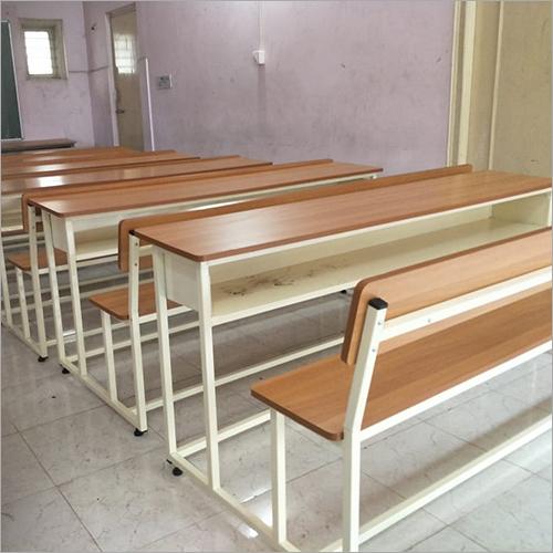 Mild Steel School Wooden Desk