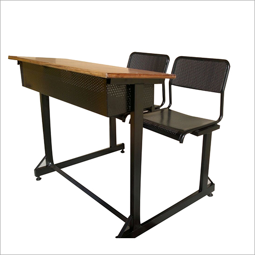 Iron School Desk