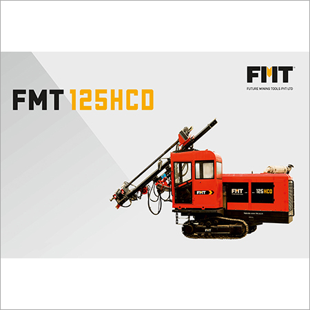 FMT 125 HCD Hydraulic Crawler Drill Machine