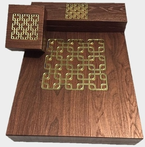 Wooden Finish Jewellery Box Series