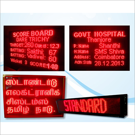 Electronic Led Moving display