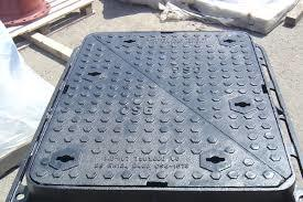 Ductile Iron Double Triangular Manhole Cover