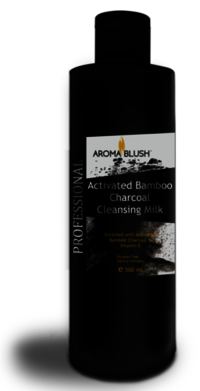 Aroma Blush Activated Bamboo Charcoal Cleansing Milk
