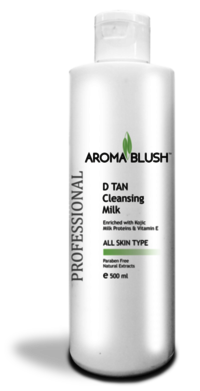 Aroma Blush D-Tan Cleansing Milk