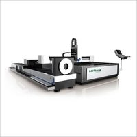 Automatic High Efficiency Sheet And Pipe Laser Cutting Machine