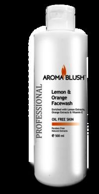 Aroma Blush Lemon & Orange Face Wash