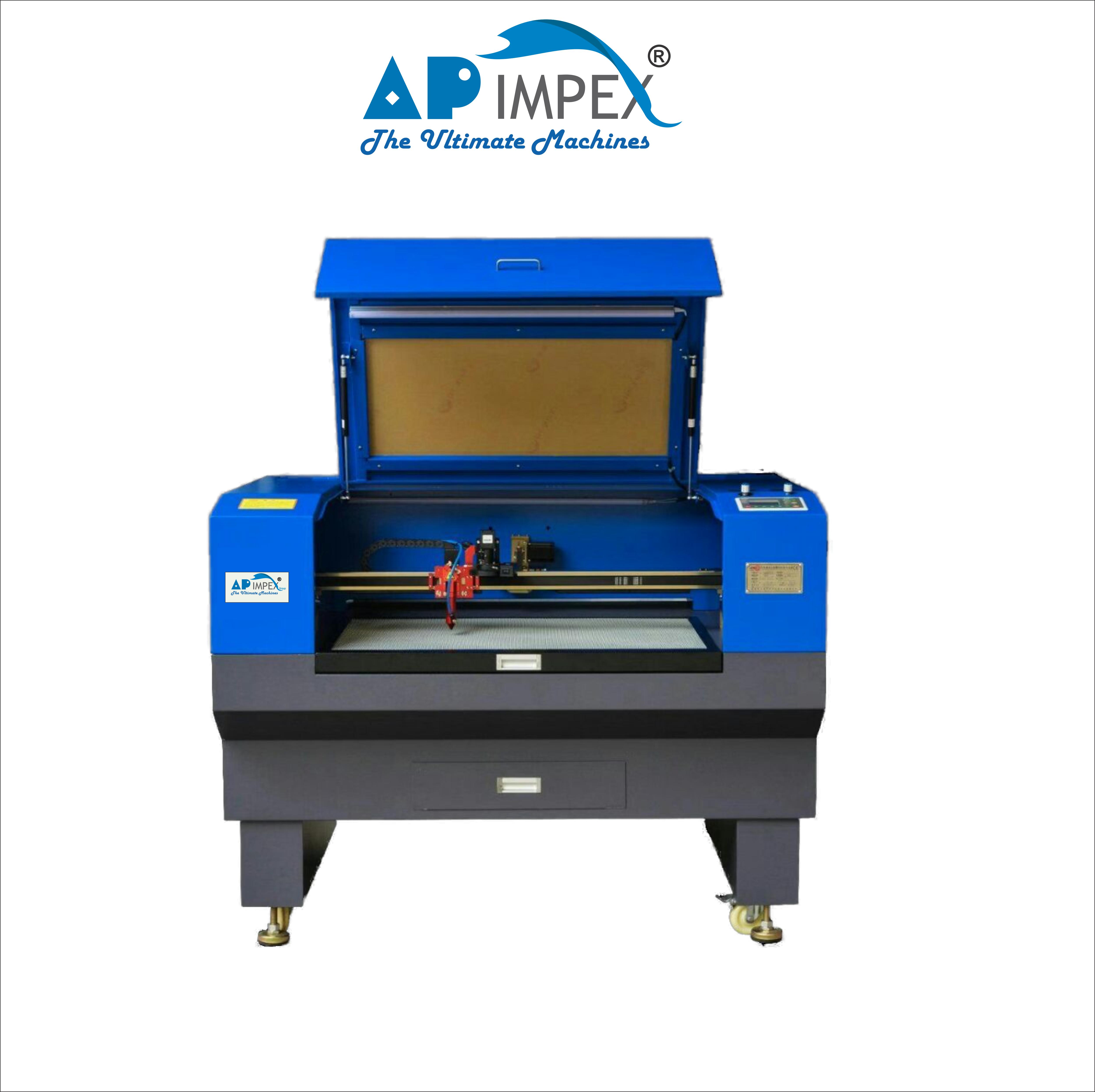 Wood laser cutting and engraving machine
