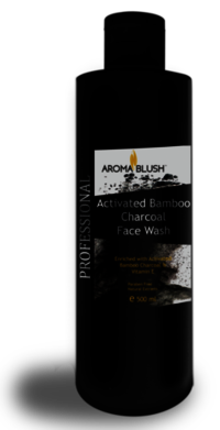 Aroma Blush Bamboo Activated Charcoal Face Wash