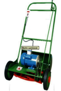 Electric Lawn Mower With Double Ball Bearing