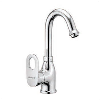 Single Lever Swan Neck Basin Mixer