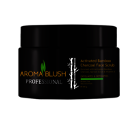 Aroma Blush Activated Bamboo Charcoal Face Scrub
