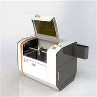 CO2 Laser Engrave Cutting Machine