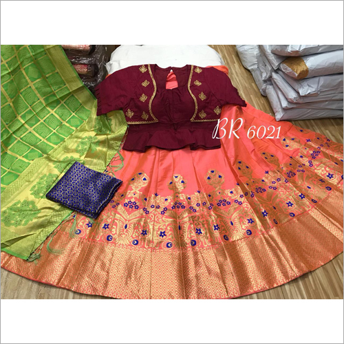 Ladies Silk Lehenga Choli