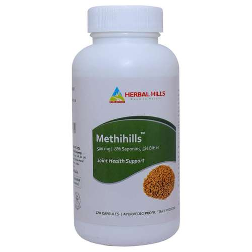 Ayurvedic Joint Pain Relief Capsule - Womens Health Capsule - Methi 120 Capsule