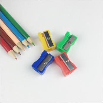 Plastic Pencil And Sharpener
