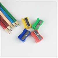 Plastic Pencil And Sharpener