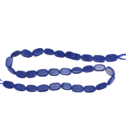 Handmade Jewelry Manufacturer Treated Lapis Gemstone String Jaipur Rajasthan India