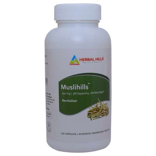 Ayurvedic Medicines for Strength And Stamina - Safed Musli 120 Capsule