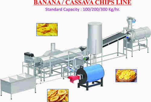 Cassava Chips Making Plant