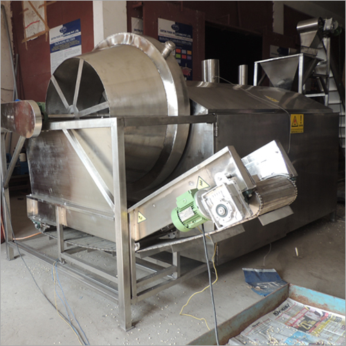 Lentils Roaster Machine