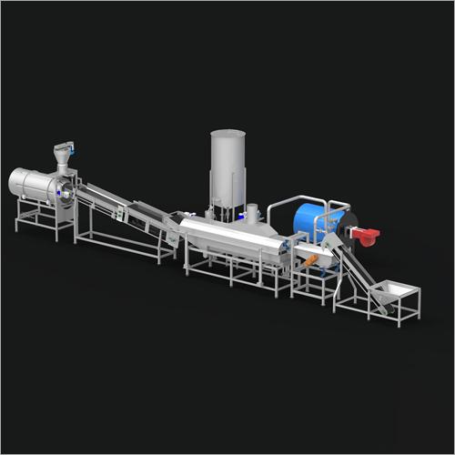 Fryums Pellet Processing Plant