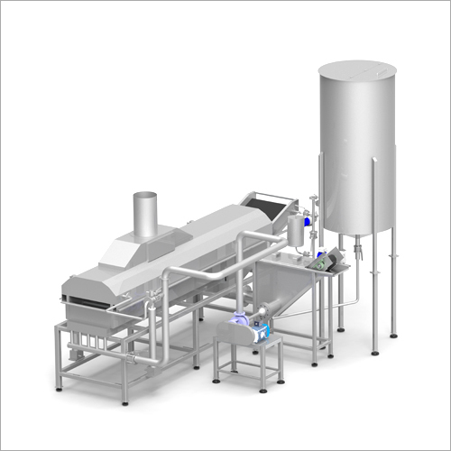 Pellet Frying Line Fryer