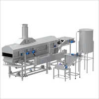 Fruits Chips Frying Machine