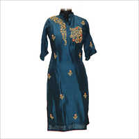 Ladies Designer Embroidery Kurtis