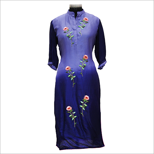 Ladies Floral Embroidery Kurtis