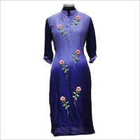 Ladies Floral Embroidery Kurtis