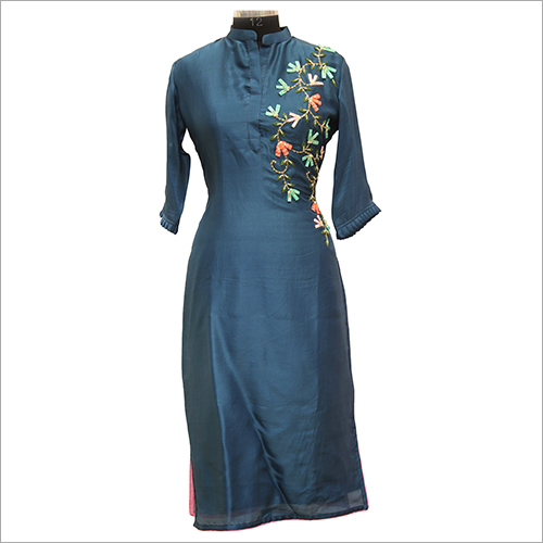 Ladies Embroidery Casual Kurtis