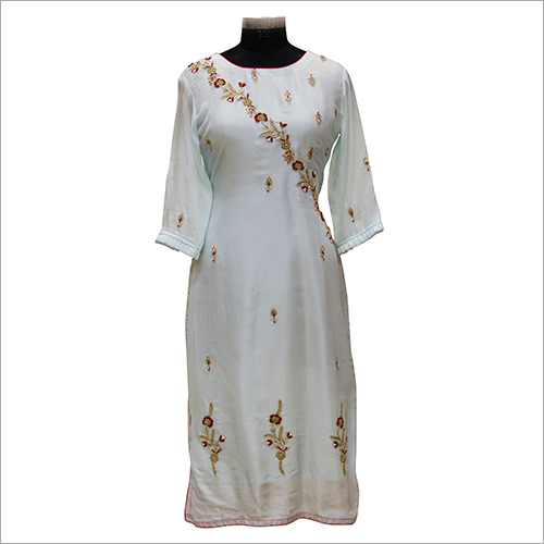 Ladies Party Wear Embroidery Kurtis