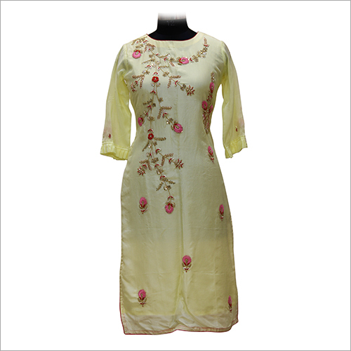 Ladies Fancy Embroidery Kurtis