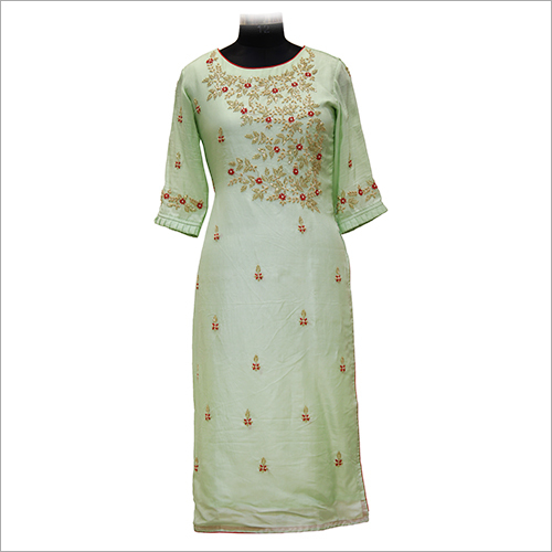 Ladies Modern Embroidery Kurtis