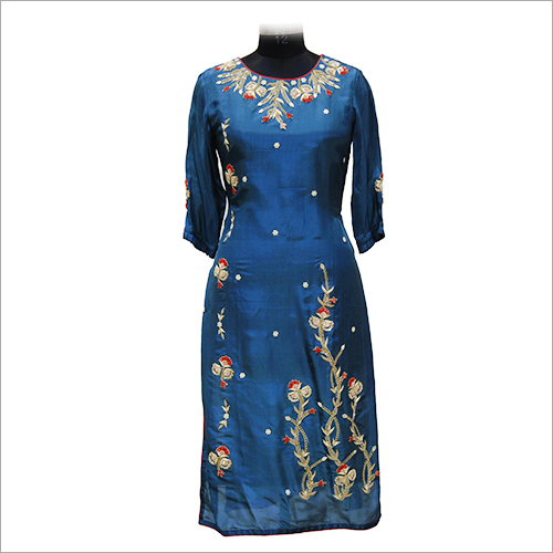 Ladies Trendy Embroidery Kurtis