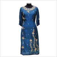 Ladies Trendy Embroidery Kurtis