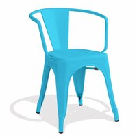 XAVIER PAUCHARD STYLE TOLIX ARM CHAIR, STACKABLE CHAIR