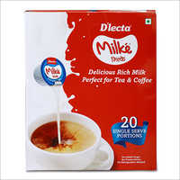 20 Single Serve Portions Milk