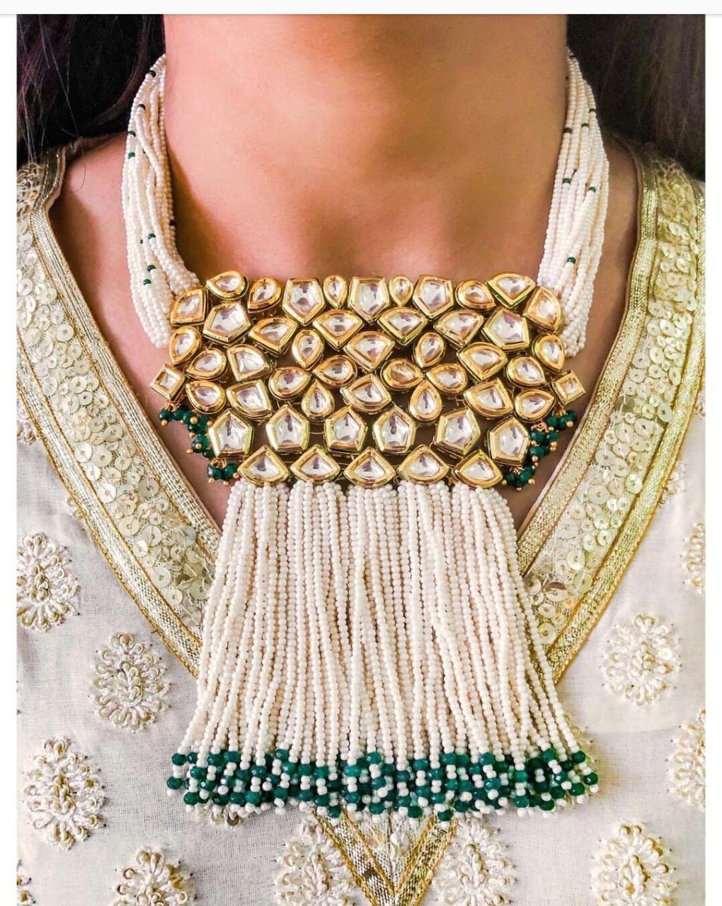 Jadau Kundan Necklace