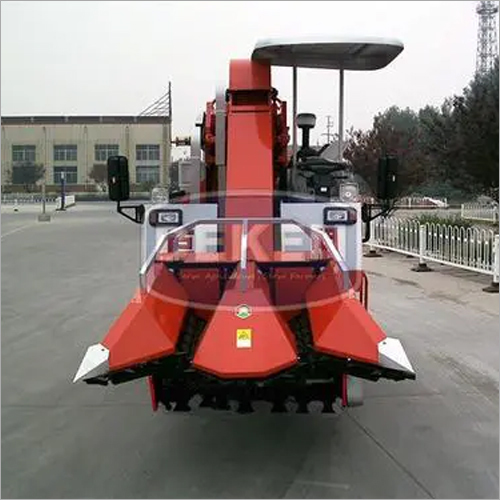2 Rows Corn Combine Harvester