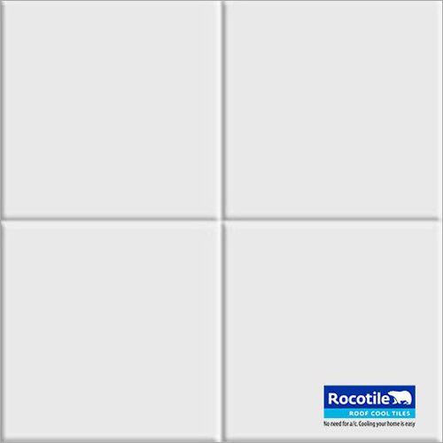 White Ceramic Roof Tile