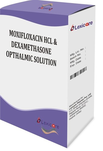 Moxifloxacin Hcl Opthalmic Solution