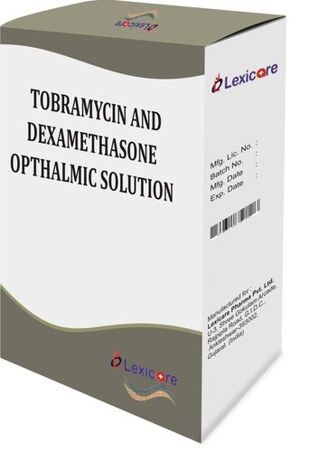 Tobramycin And Dexamethasone Opthalmic Solution