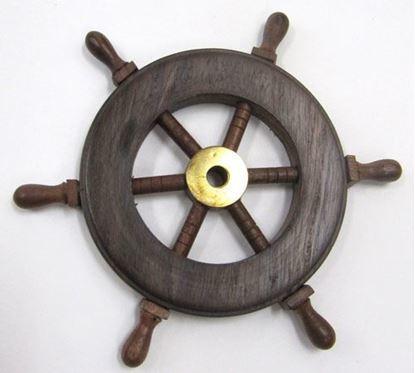 Wooden Ship Wheel 6 Inch