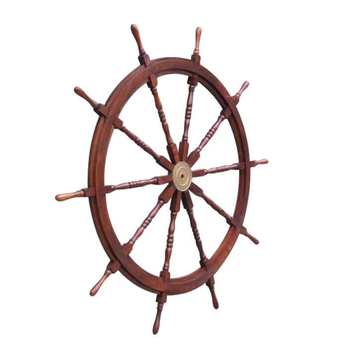 Wooden Ship Wheel 58 Inch