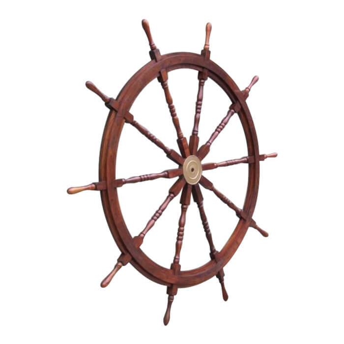 Wooden Ship Wheel 72 Inch
